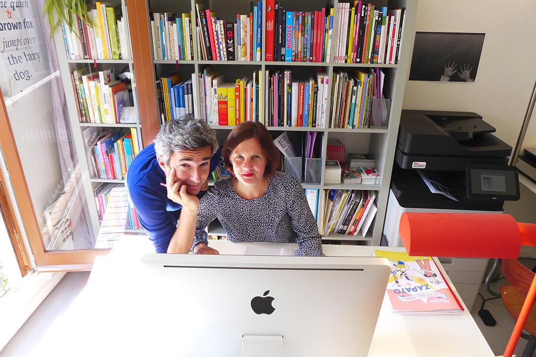 Chloé Marquaire & Guillaume Griffon, fondateurs des Éditions L'Agrume -  Baron Mag