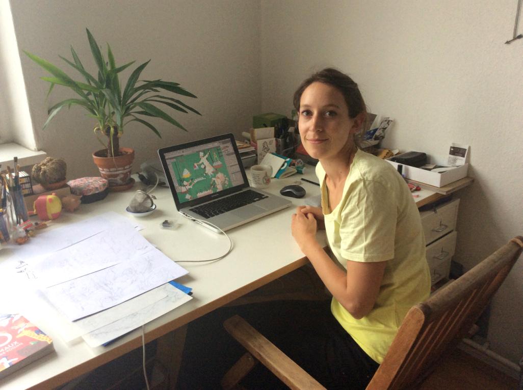 Cléa Dieudonné, illustratrice et auteure jeunesse - Baron Mag